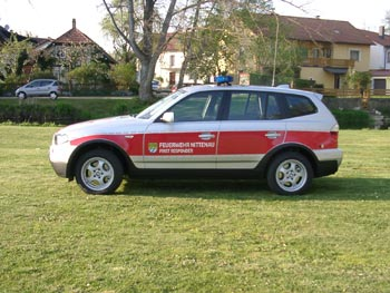 First Responder vehicle